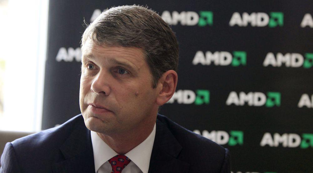 AMD-sjef Rory Read lover at inneværende kvartal skal gå i pluss.