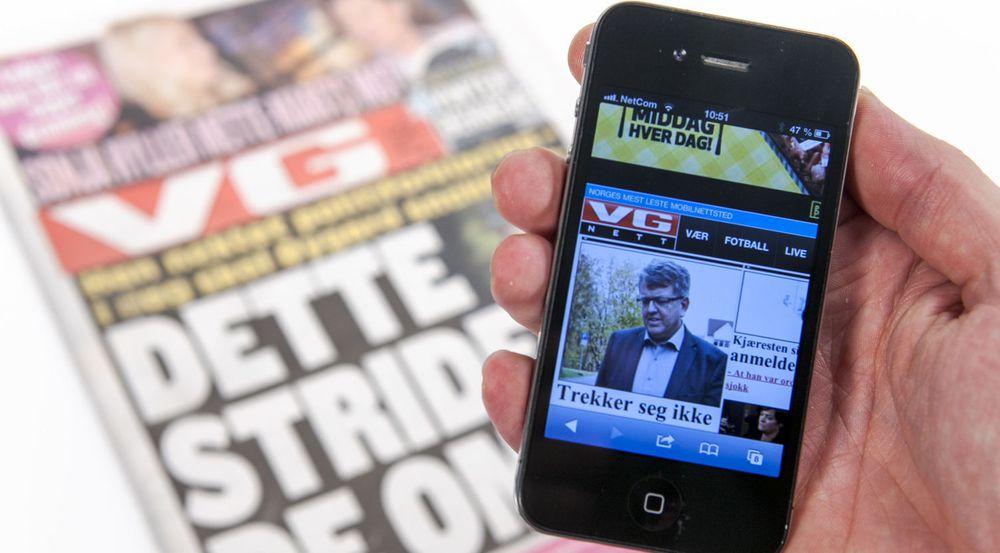 VGs digitale omsetning økte med nesten 30 prosent.