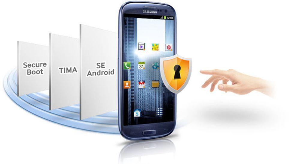 Knox er Samsungs sikkerhetsplattform for Android-mobiler.