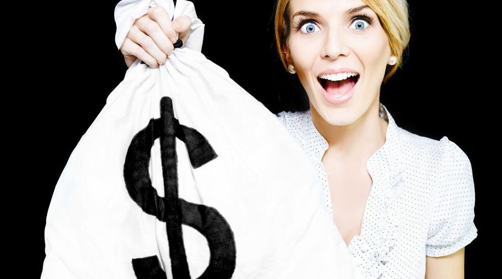 Værsågod, en sekk med penger for å ha bidratt til å gjøre konkurrentens nettleser tryggere.