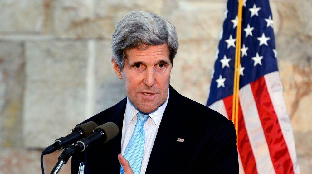 USAs utenriksminister John Kerry, møter denne uken toppledere fra Kina. På programmet står kyberspionasje.