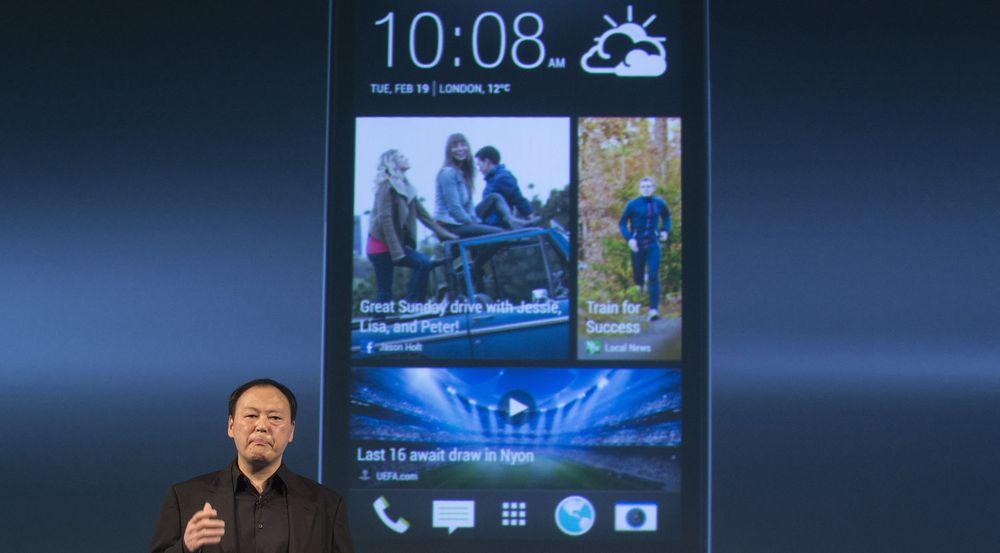 Det var ikke mye smiling på HTC-toppsjef Peter Chou da han lanserte selskapets flaggskip One tidligere i år. Noen grunn til å smile har det heller ikke vært den siste tiden...