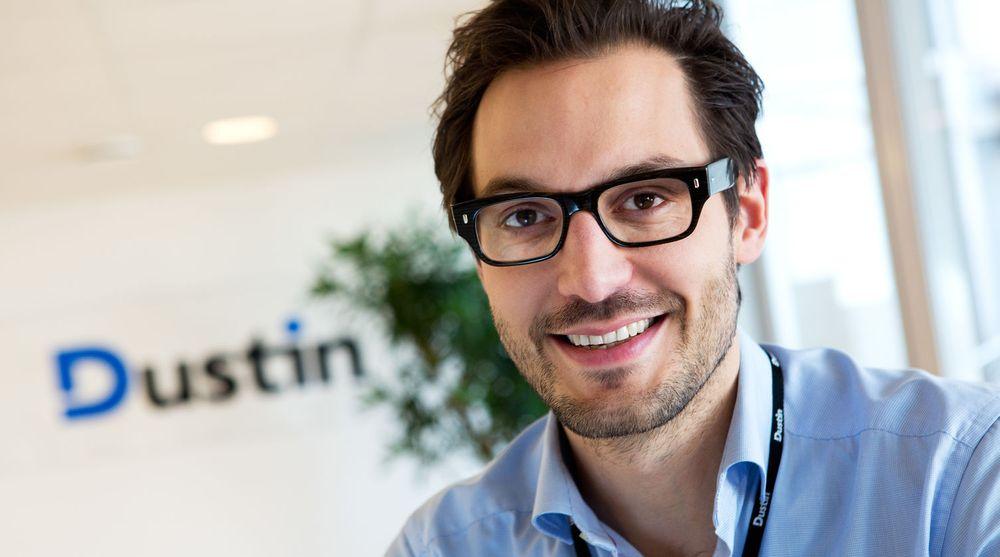 Dustin har vunnet flere store kontrakter med norsk offentlig sektor. Nå kan toppsjef Georgi Ganev (bildet) glede seg over en ny rammeavtale på servere med samtlige fire helseregioner.