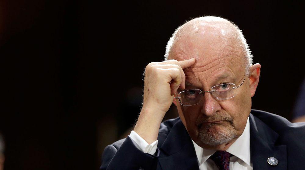 I HARDT VÆR: James Clapper, direktør for National Intelligence, en av USAs 16 kjente etteretningstjenester, beklager nå at han løy i en kongresshøring.