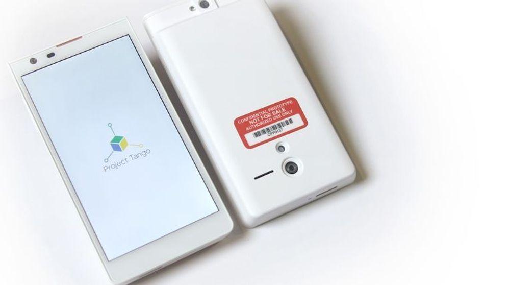 Smartmobilen som er utviklet i Googles Project Tango skal ved hjelp av helt nye prosessorer og sensorer kunne skape en 3D-modell av omgivelsene. Dette kan åpne for helt nye muligheter innen utvidet virkelighet.