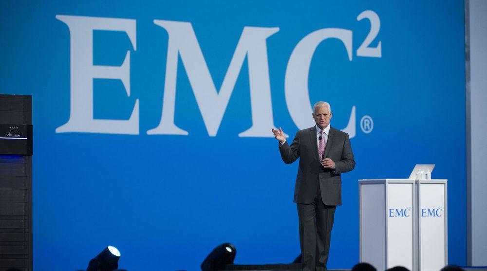 EMC-sjef Joe Tucci er skuffet over tredje kvartal, men mener at selskapet og datterselskapene er på rett kurs.