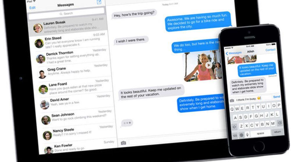 Sikkerhetsforskere hevder at Apple selv vil kunne avlytte iMessage-meldinger dersom selskapet velger eller tvinges til å gjøre dette.