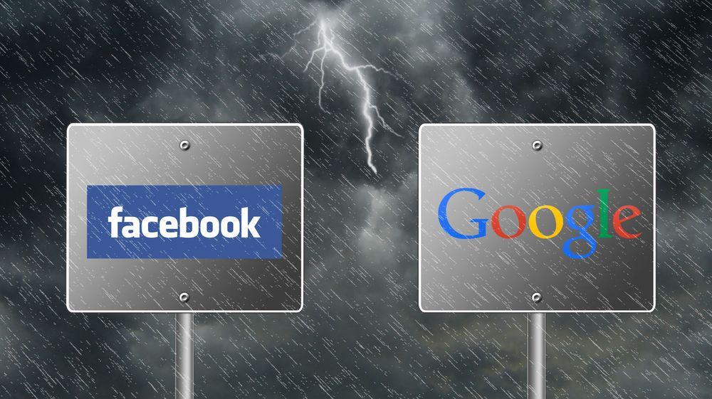 Forholdet mellom Facebook og Google har vært langt mer preget av konkurranse enn av samarbeid. Men når har selskapene innledet et begynnende partnerskap på annonsesiden.