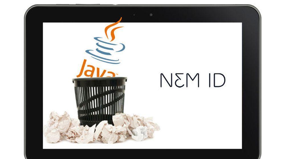 Danske NemID, som tilsvarer norske BankID, fungerer ikke på den siste versjonen av Java.