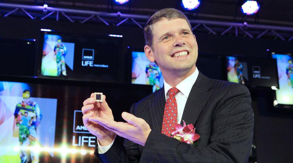 Toppsjef Rory Reads plan for å få AMD over i varig lønnsomhet ser ut til å lykkes, trass i pc-krisen.