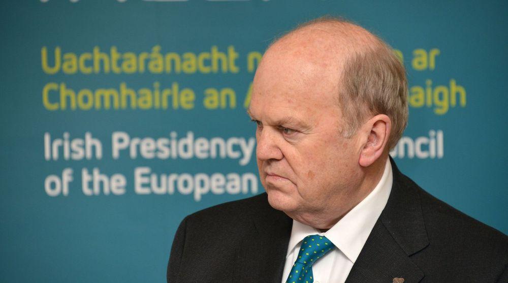 Den irske finansministeren, Michael Noonan, vil ikke lengre ha på seg at landet er et skatteparadis for Google og andre multinasjonale selskap.