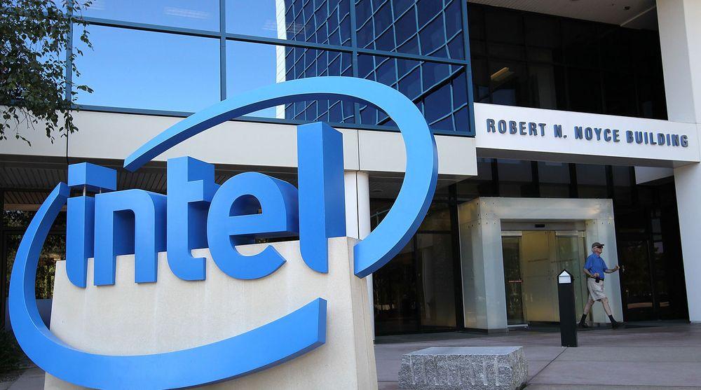 Intel holder stand, trass i nedgangen på pc-markedet.