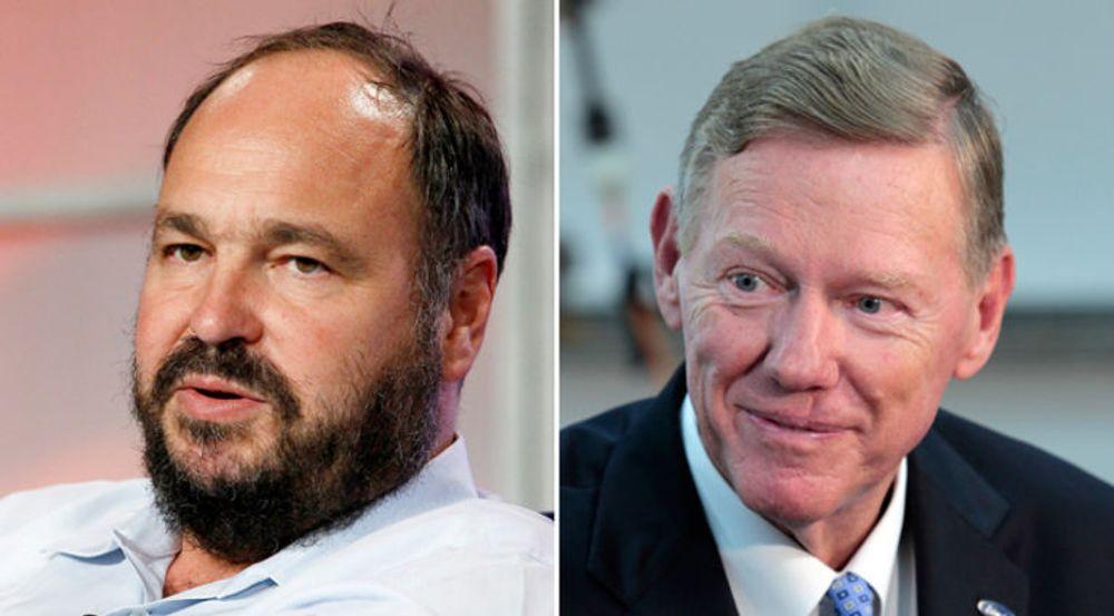 Det er fremmet et forslag der Microsoft ledes av et tospann, med Paul Maritz og Alan Mulally som henholdsvis høyre og venstre hjerrnehalvdel (Maritz på bildet til venstre).