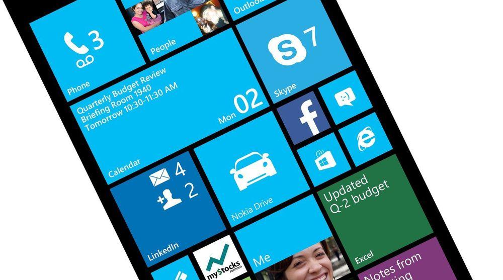 Windows Phone 7 Update 3 kan vise seks fliser i høyden på skjermer med full HD-oppløsning.