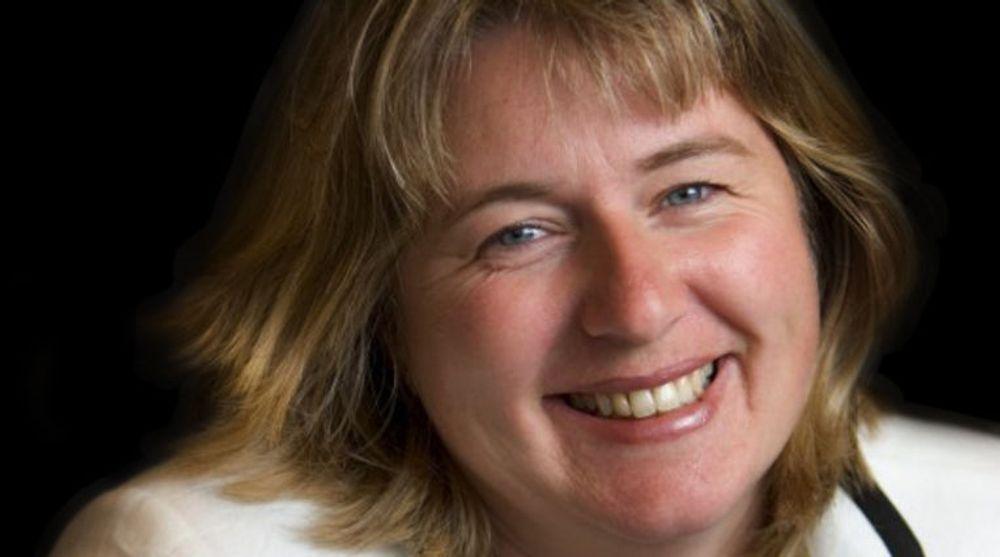 GODE TIDER: HR-direktør Tove Selnes i Opera Software har snart tusen ansatte å tenke på.