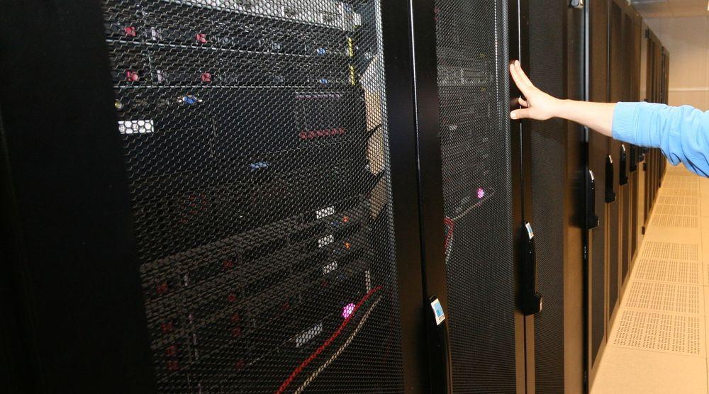 Serverskapet som huser Altinn-løsningen i en av Basefarm sine datasentraler i Oslo.