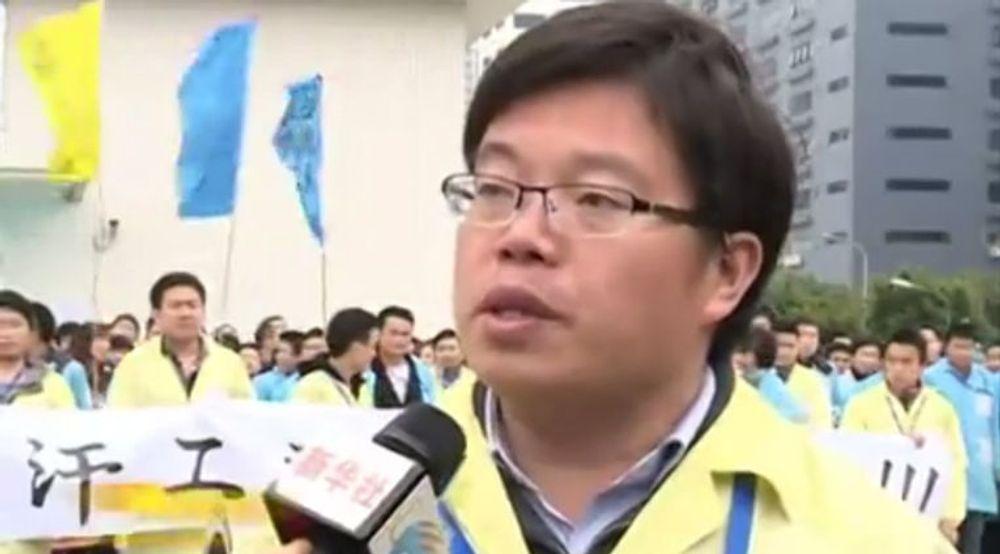 Hou Hongbo forteller at de fleste av de streikende har tatt i mot sluttpakke, heller enn å arbeide for den nye eieren, Lenovo.