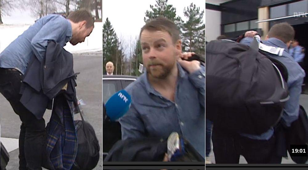 Kunnskapsminister Torbjørn Røe Isaksen hadde 40 kilogram papirdokumenter med seg til regjeringens budsjettkonferanse i går.