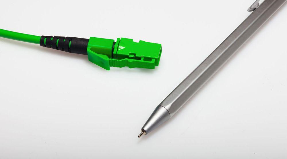 Størrelsen på MXC-kontakten er så liten at den skal kunne åpne for blant annet langt mer kompakte svitsjer.
