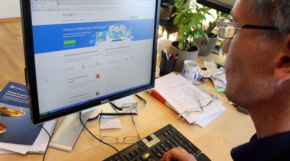 JA/NEI: Direktør Bjørn Erik Thon (bildet) og Datatilsynet i Norge snudde i saken om Google Apps. Deres svenske kolleger mener fortsatt at bruken i kommuner er lovstridig.