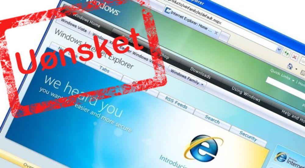 Internet Explorer 8 vil ikke støttes av Google Analytics. Støtten forsvinner i løpet av året, melder nettkjempen.