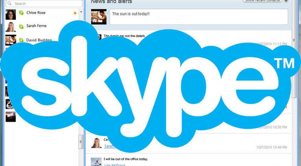 Skype ble kjøpt av Microsoft for omtrent to år siden. Tjenesten blir gradvis integrert tettere med Microsofts øvrige tjenester.
