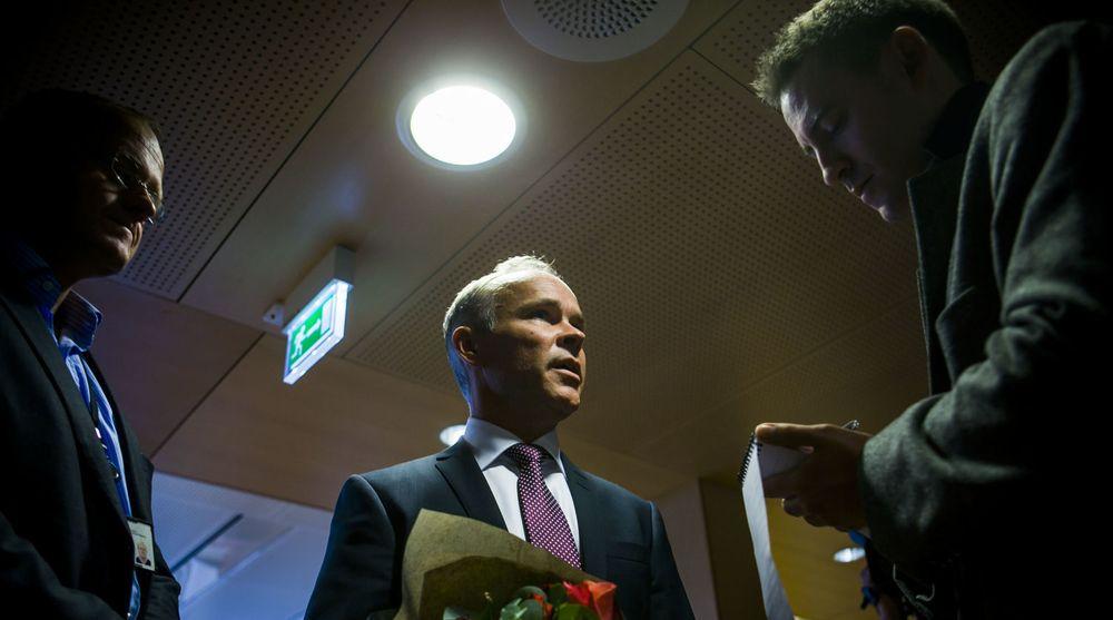 IT-minister Jan Tore Sanner (bildet) har lagt en miliard kroner på bordet til digitalisering. Investeringen kan gå tapt hvis ikke innsatsen mot datakriminalitet og digitale trusler også øker, mener forfatteren av dette innlegget. (Arkivfoto)