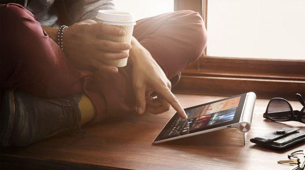 Lenovo har utviklet flere interessante produkter i kategorien de kaller «PC +», blant annet Yoga Tablet.