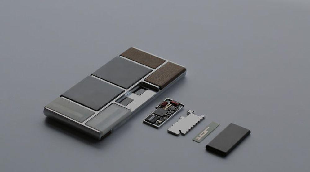 Så godt som alle deler av Project Ara vil kunne byttes ut mens telefonen er på.