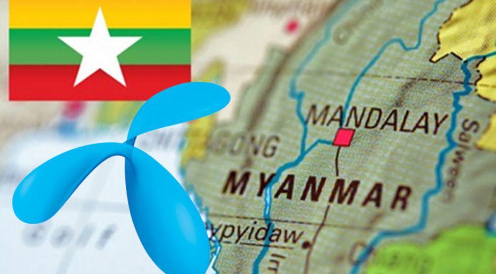 Drøyt 51 millioner innbyggere bor i Myanmar. Telenor gjennomførte den første testen av mobilnettet i april, nå går startskuddet for kundene.
