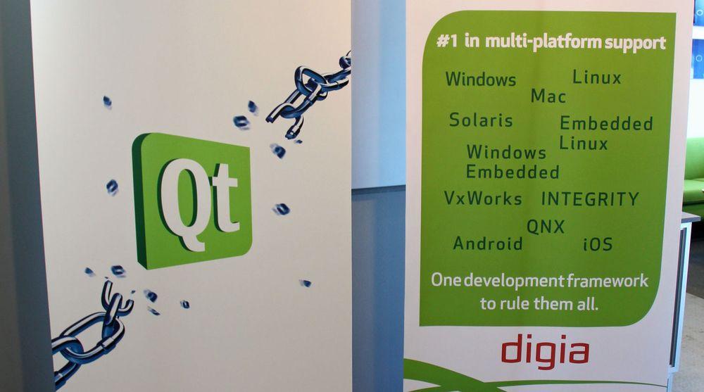 Finske Digia velger nå etablere et eget datterselskap kalt The Qt Company, for bedre å ta vare på merkevaren.