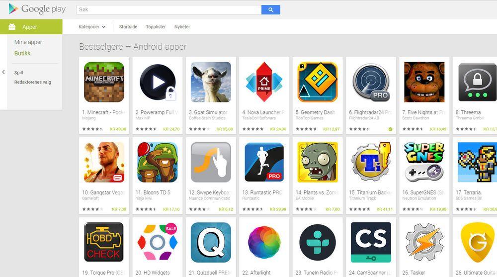 Fra månedsskiftet skal vanlige Google Play-brukere kunne klikke på oppføringen til applikasjoner hvor utvikleren mottar salgsinntekter via Google og kunne se utviklerens fysiske adresse. Det kan ta motet fra svindlere, men vil også kunne føles ubehagelig av andre utviklere. Utviklere av gratisapplikasjoner, eventuelt finansiert ved hjelp av annonser, skal ikke være berørt av de nye reglene.