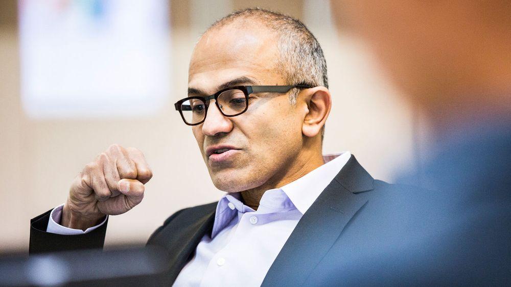 Microsofts nye administrerende direktør, Satya Nadella.