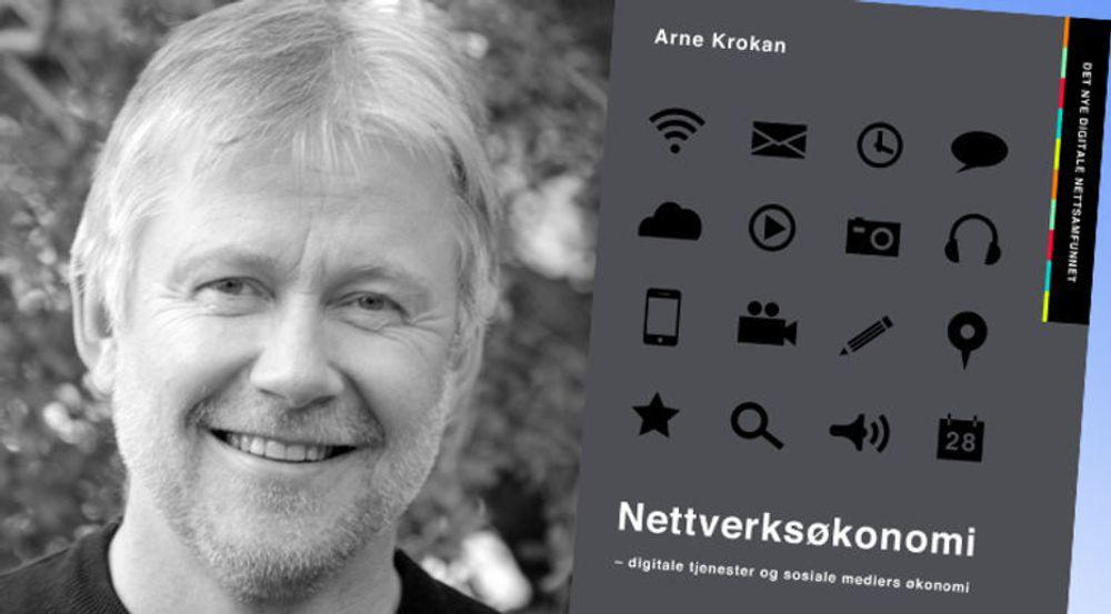 Professor Arne Krokan har skrevet boka Nettverksøkonomi. Arild Haraldsen mener boka er god, men han har tre innvendinger.