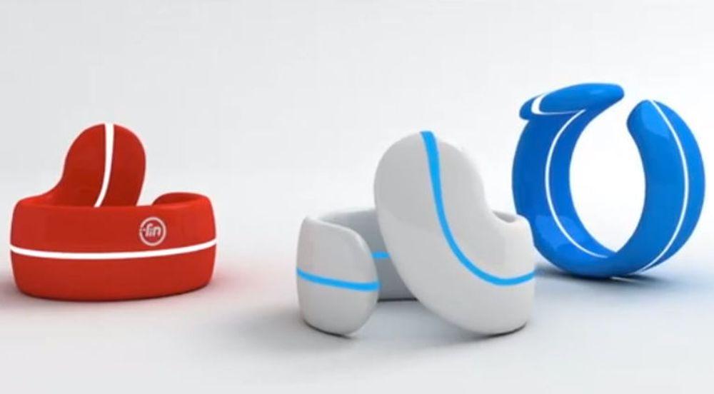 Fin er en tommelring som kan konvertere bevegelser til Bluetooth-kommandoer.