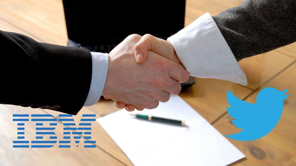 IBM har inngått en større patentavtale etter at IBM i fjor anklaget Twitter for patentkrenkelser.