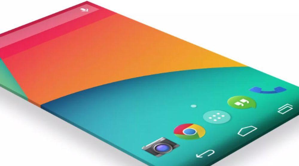 Om Samsungs kommende Android-mobiler ikke får en helt ren Android-opplevelse, som denne Android 4.4-skjermen fra Nexus-telefonene, så tyder mye på at Samsung i framtiden i større grad vil følge Google retningslinjer for brukeropplevelse enn det som har vært tilfellet til nå.