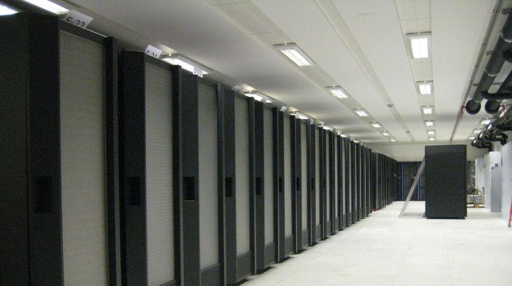 Superdatamaskinen Njord ved NTNU har en maksimal ytelse på 23 teraflops.