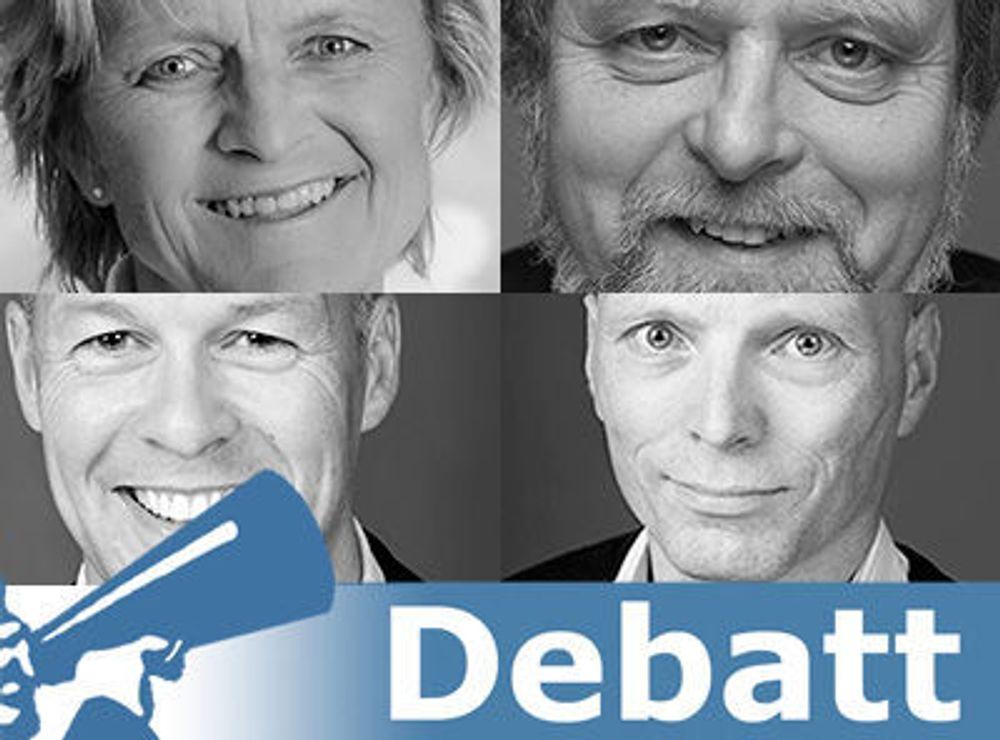 Artikkelforfattere for dette debattinnlegget er Gerd Mejlænder-Larsen (Devoteam), Tov Tovsen, Jan Elling Rindli og Erlend Vestre (Fornebu Consulting).