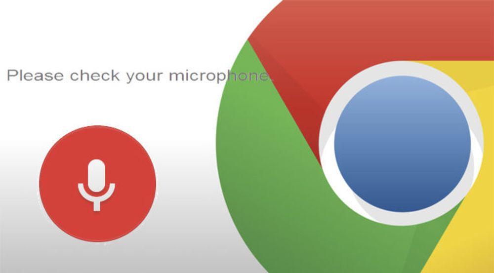 Ikke bare lyd fra mikrofonen, men fra også fra de fleste andre kilder, skal nå kunne prosesseres i den nyeste betautgaven av Chrome.