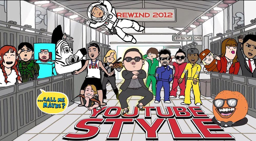 Virale hits som fjorårets Gangnam Style bidrar til at stadig flere bruker YouTube.