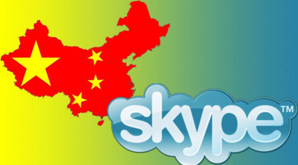 En amerikansk student har påvist at den kinesiske utgaven av Microsoft-tjeneste Skype er underlagt kinesisk sensur, og at også brukere i utlandet registreres med navn og meldingsinnhold hvis meldingen inneholder forbudte ord.