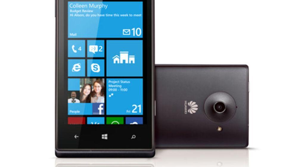 Ingen flere Windows-mobiler med det første, sier Huawei.