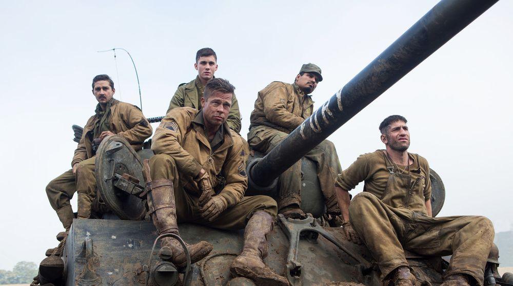 PIRATKOPIERT: Sonys storfilm Fury med Brad Pitt i hovedrollen er blant en rekke titler som nå blir spredt ulovlig på nettet. Filmselskapet skal være svært hardt rammet av et omfattende datainnbrudd som skjedde mandag for en uke siden.