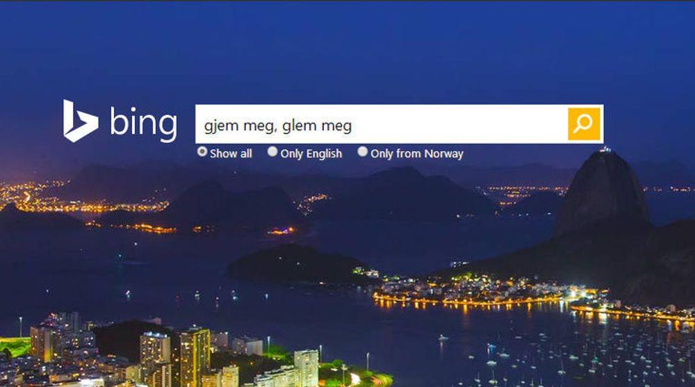Bing og Yahoo har begynt «å glemme»