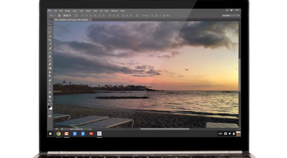 Adobes Photoshop Streaming er spesielt laget for Chrome OS-enheter.