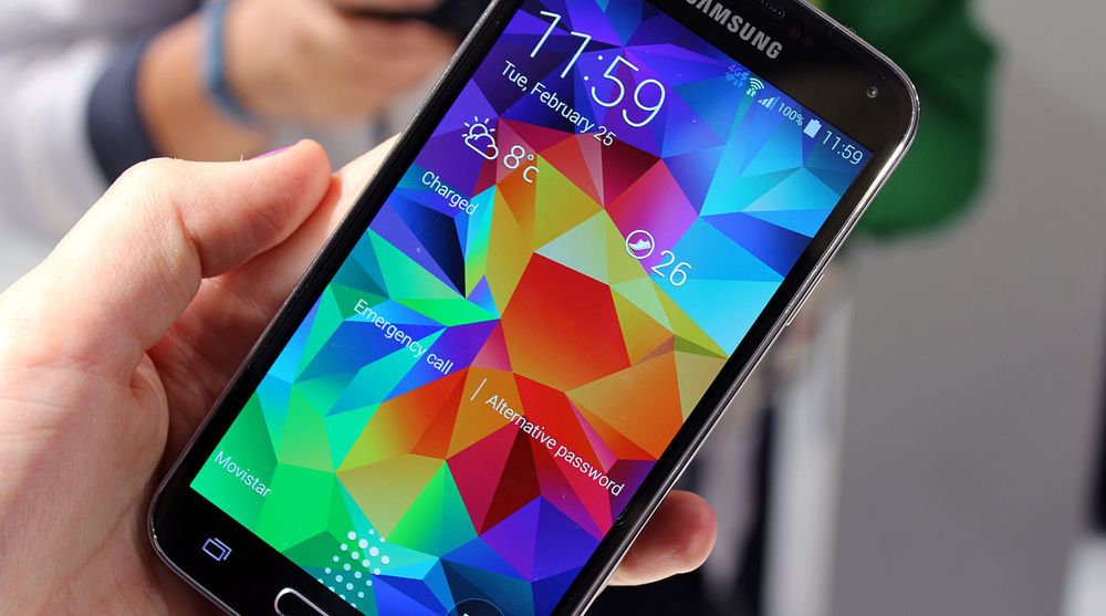 Samsungs Galaxy S5 skal ha solgt merkbart mindre enn forgjengeren året før.