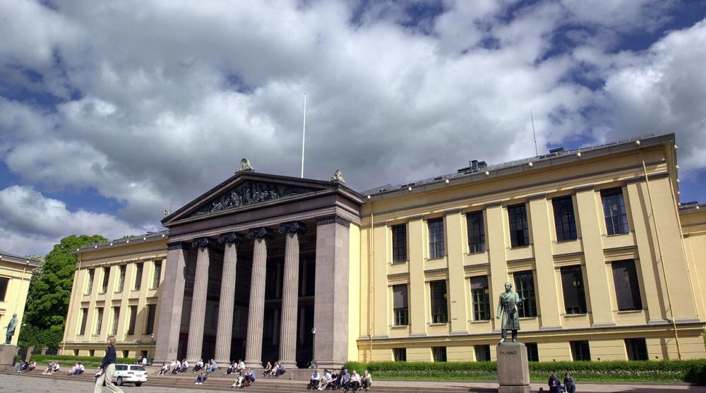 Universitetet i Oslo, her representert ved Domus Media, har ved en feil gjort fødselsnumrene til 959 studenter tilgjengelige på nett.