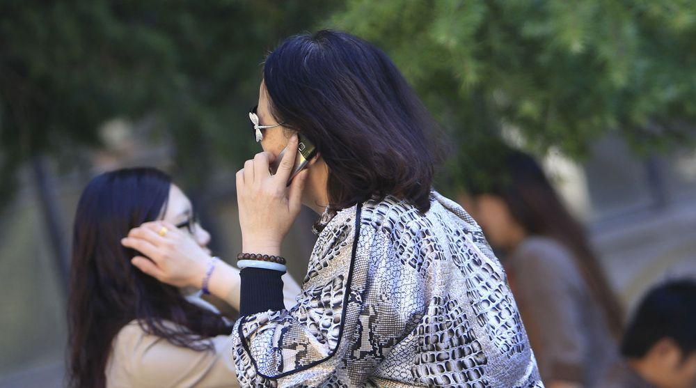 Kina er også verdens største marked for mobiltelefoner.