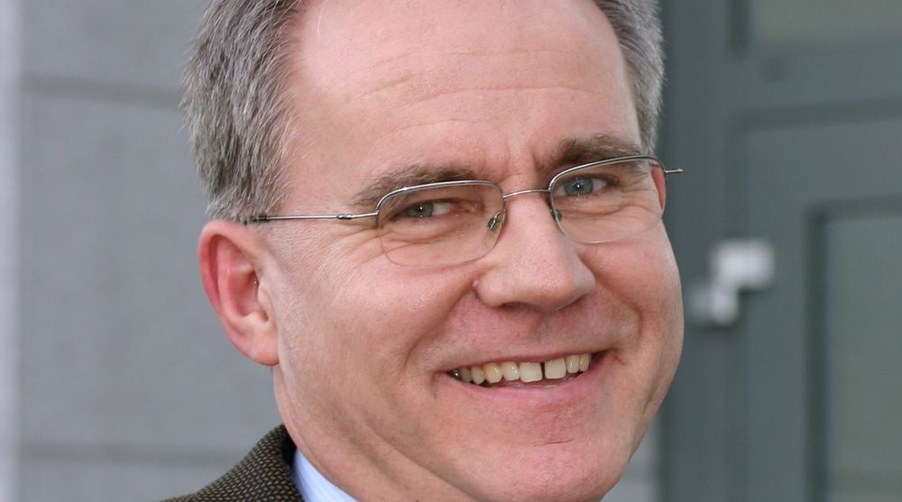 GIR SEG: Jens Petter Ørjansen ser fram til nye utfordringer etter 32 år i Xerox Norges tjeneste.